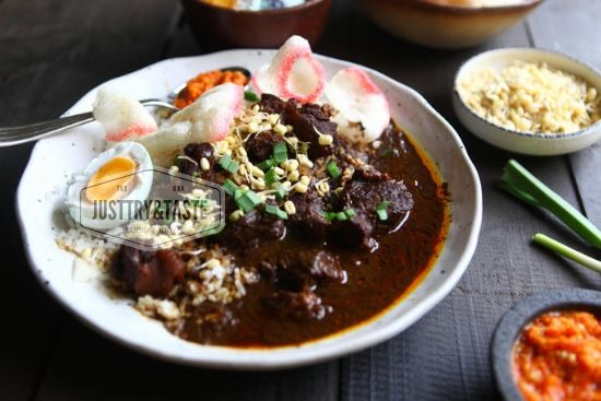 Resep Rawon Jtt Makanan Resep Daging Resep