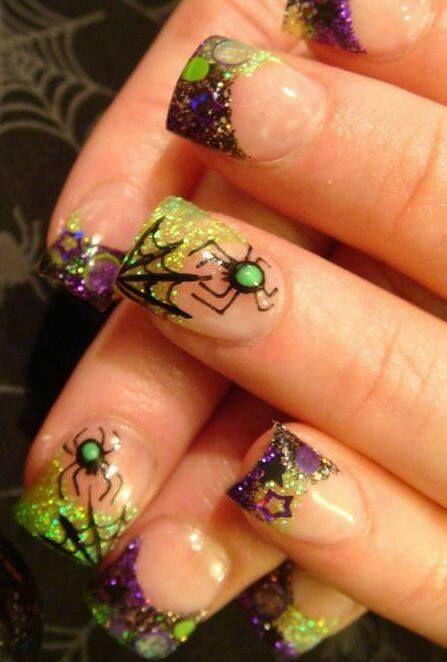 Halloween nail art!