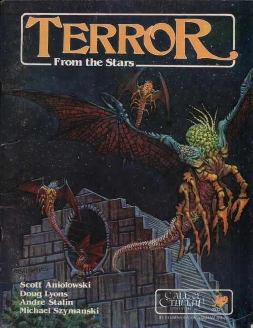 Call of Cthulhu: Terror From the Stars ~ Chaosium (1986)
