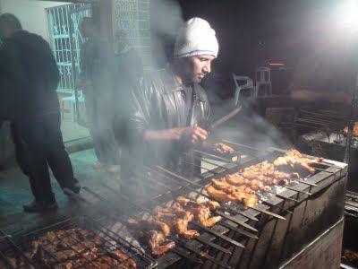 Preparing Chicken Tikka