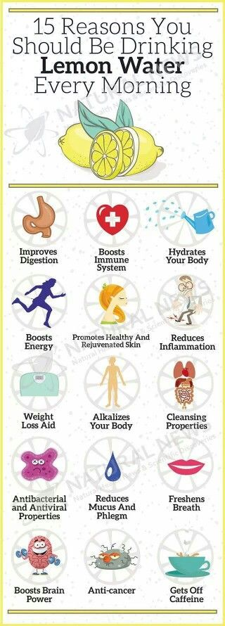 The importance of lemon water!
