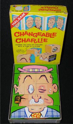 changeable charlie toy