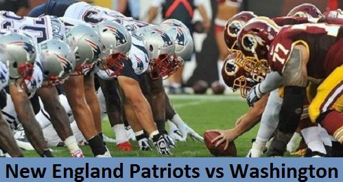 Pin On New England Patriots Vs Washington Redskins