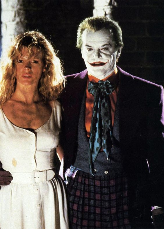 """Batman"" (1989) starring Jack Nicholson & Kim Bassinger:"