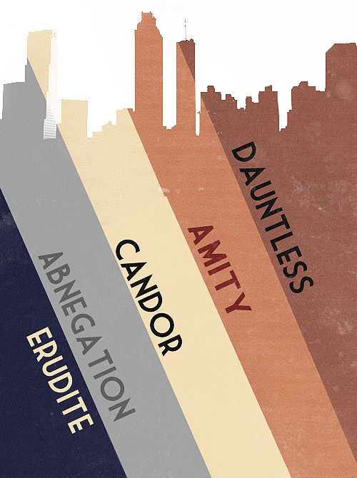Minimalist Classroom Activities : I love me some divergent minimalist posters