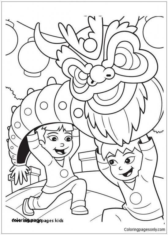 72 Awesome Photos Of Coloring Pages For Kids Free New Year Coloring Pages Dragon Coloring Page Chinese New Year Dragon