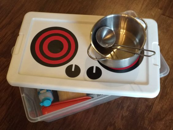 Children's vinyl stove top decals - VINYL ONLY - vinyl kitchen pretend play