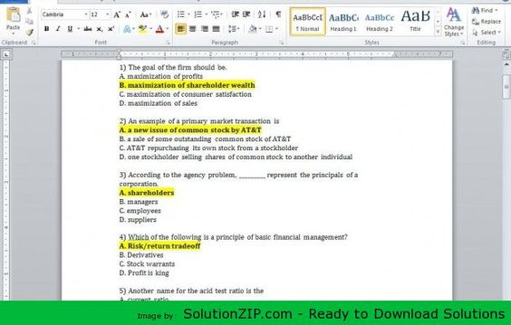 Dowmload    solutionzip downloads firm-a-has-10000-in - how to prepare profit and loss statement