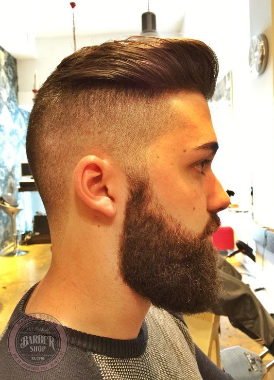 Trabajo Realizado Por El Equipo Abelpelukeros Elche Barbershop Peluqueria Hombre Estilo