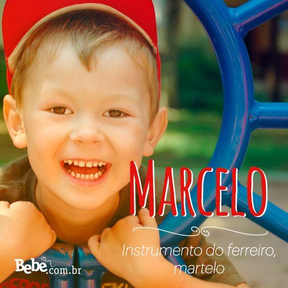Quem aí também tem um #Marcelo em casa ou na barriga? No nosso site, você confere mais curiosidades e a numerologia de Marcelo (e de muitos outros nomes lindos!). #NomesSignificados