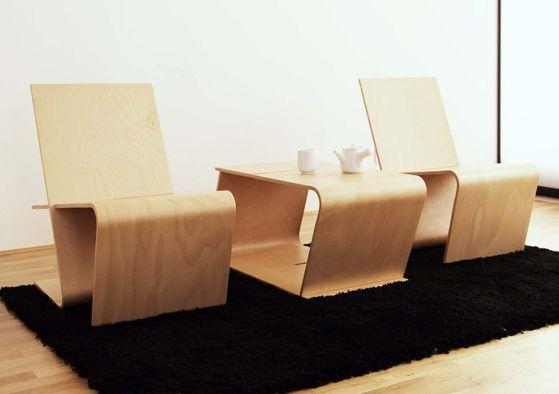 多用途北歐風休閒椅