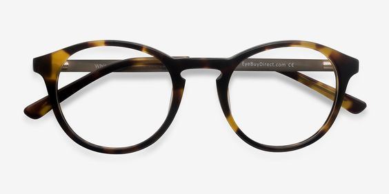 White Moon Tortoise Acetate Eyeglasses from EyeBuyDirect. Exceptional style, quality, and price with these glasses. This frame is a great addition to any collection.