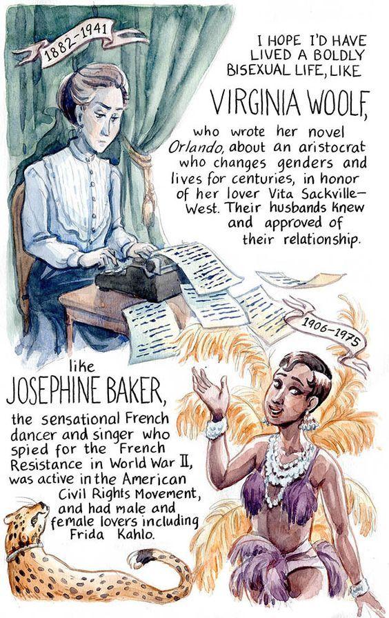 Virginia Woolf and Josephine Baker