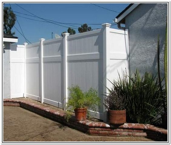 8 Ft Tall Privacy Fence
