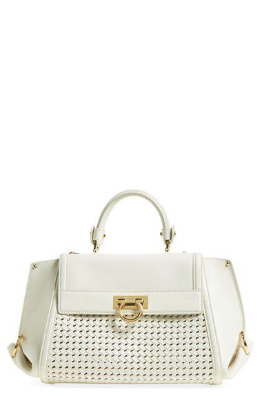 Salvatore Ferragamo Salvatore Ferragamo 'Sofia' Leather Satchel available at #Nordstrom