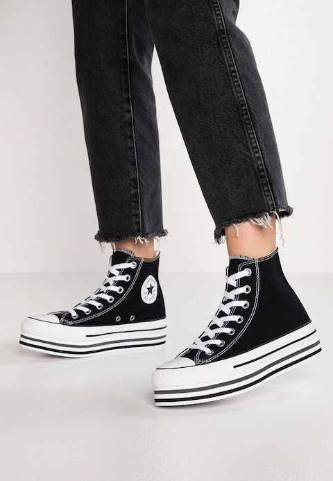 CHUCK TAYLOR ALL STAR PLATFORM Baskets montantes black