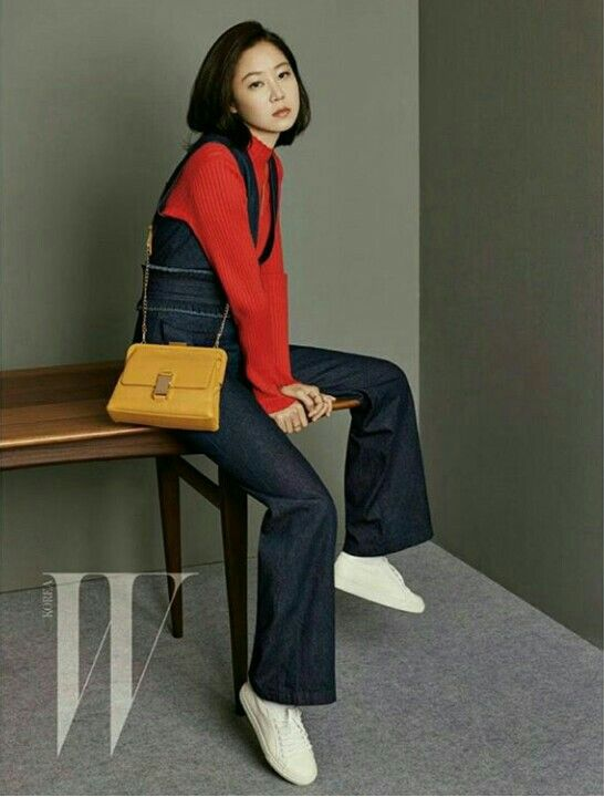 Kong Hyo Jin for W magazine 2015, Sept issue