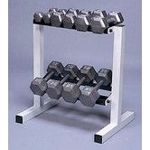 Found it at Wayfair - 150 lbs Solid Hex Dumbbell Set with Rack