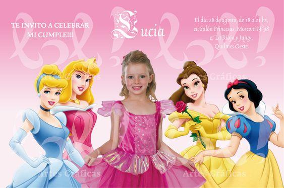 Tarjetas De Cumpleaños De Princesas Para Descargar Al Celular 1  en HD Gratis