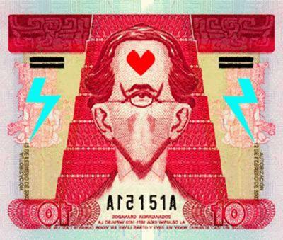 """10""  [Billetes chapines]  2012"