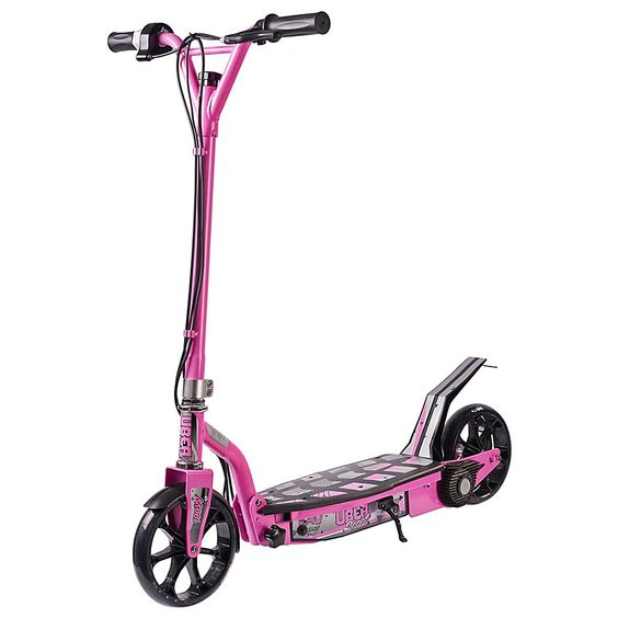 Uberscoot 24 Volt Electric Scooter By Evo Powerboards In Pink In