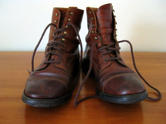 Holland and Holland- Men's vintage hunting boots | Threads n ...