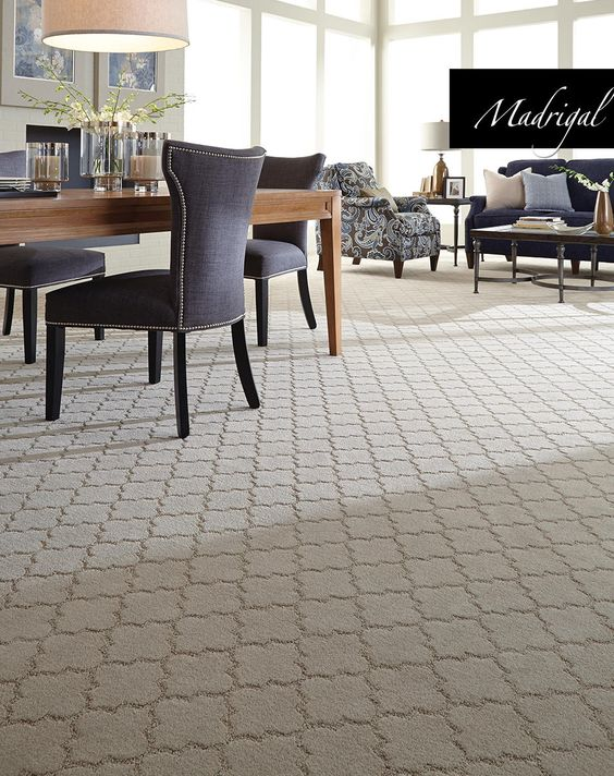 New fashion forward carpet styles and colors from tuftex for Wall to wall carpet trends