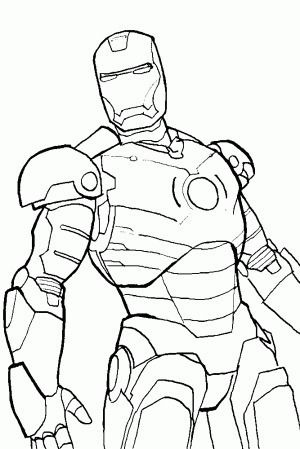 Colorear Iron Man Iron Man Drawing Iron Man Art Drawing Superheroes