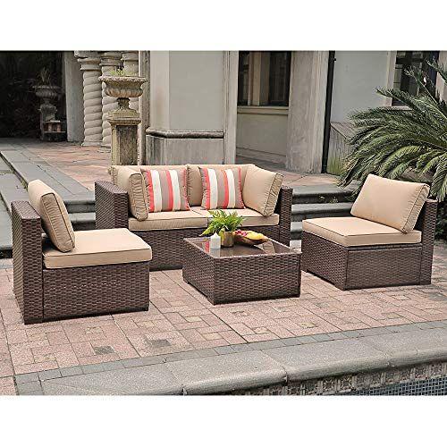 See Sunsitt Patio Furniture Set 5 Piece Outdoor Furniture Pe