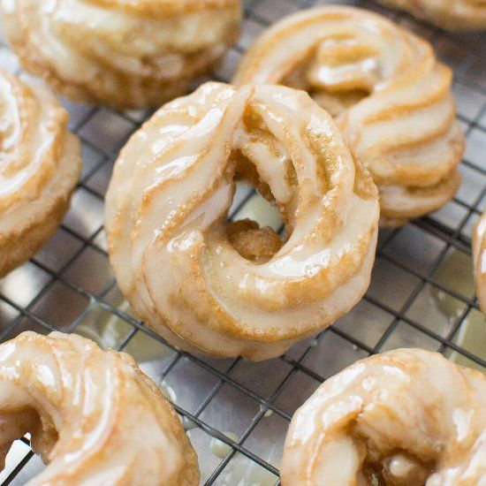 Dangerously delicious and easy to make French Honey Crullers. Melt in your mouth and light as air. Ready in 45 minutes from start to finish!