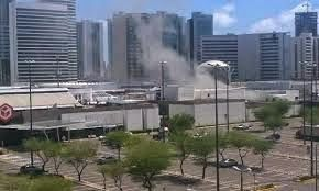 Taís Paranhos: Princípio de incêndio atinge Shopping Recife