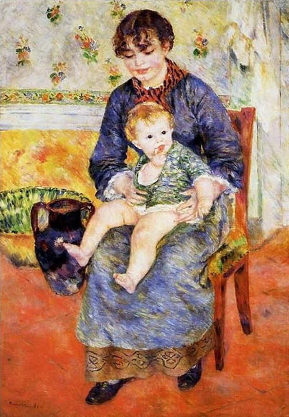 Renoir...mother and son