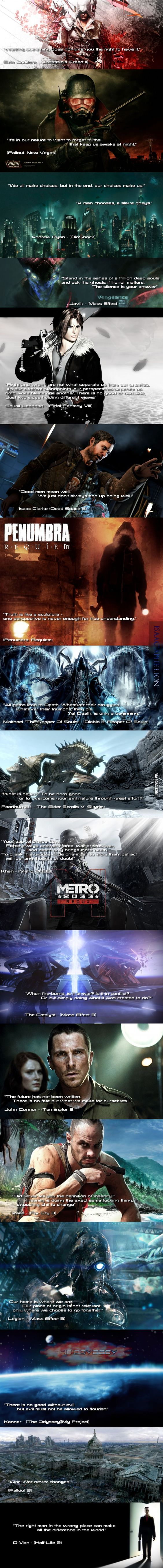 18 Awesome Game & Movie Quotes - 9GAG