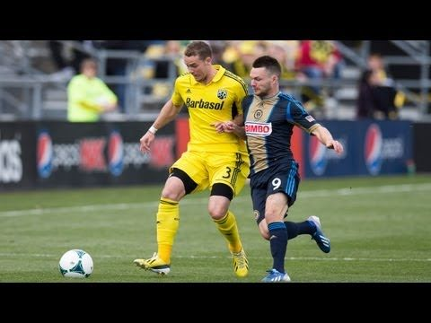 FOOTBALL -  HIGHLIGHTS: Columbus Crew vs Philadelphia Union | April 6, 2013 - http://lefootball.fr/highlights-columbus-crew-vs-philadelphia-union-april-6-2013/
