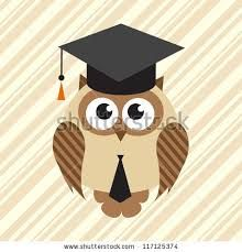 Image result for owl graduation