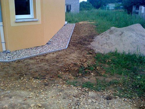 Préférence bande de propreté autour de la maison | Extérieur/jardin  WT19