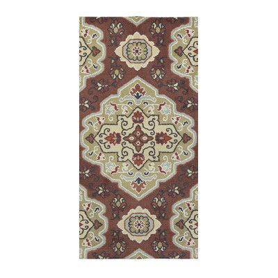 Welspun Spaces HomeBeyond© Medallion Area Rug Rug Size: