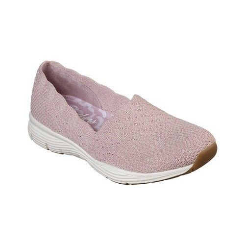 Women's Skechers Seager Stat Slip On Shoe Rose Slip on