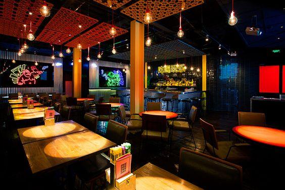 orange blowfish bonobo izakaya restaurant shanghai