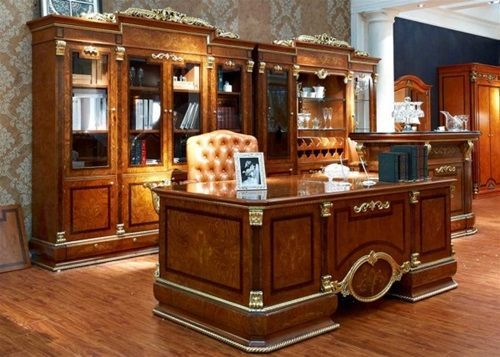 Furniture Sets In Modern Offices, Traditional Office Furniture Sets