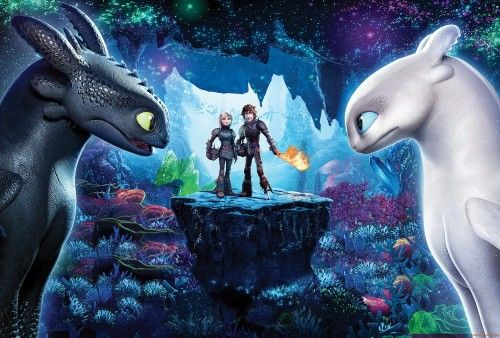 How To Train Your Dragon 3 The Hidden World 4k Wallpaper How Train Your Dragon How To Train Your Dragon Toothless