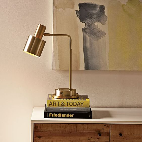 Springhill Suites Cylinder Task Lamp With Usb Charger Task Lamps Lamp Springhill