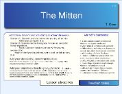"""Compare to versions of """"The Mitten"""""""