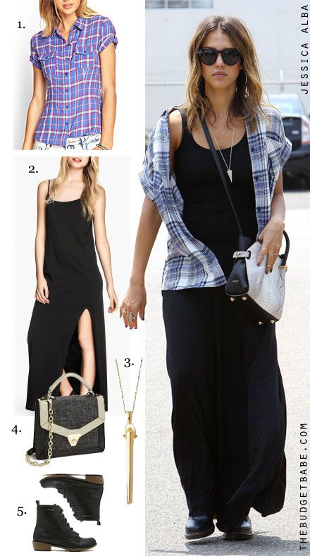jessica alba maxi dress pinterest