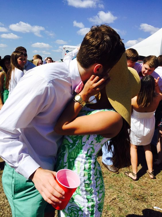 It's not Carolina Cup if you don't take this picture. TSM.