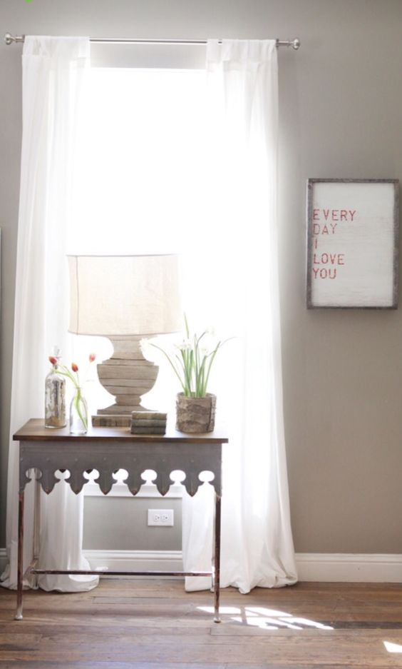 Wall color is Intellectual Gray Sherwin Williams