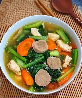Resep Capcay Kuah Resep Masakan Cina Resep Masakan Masakan Vegetarian