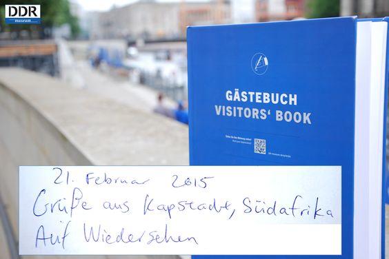 Das DDR Museum grüßt Kapstadt!