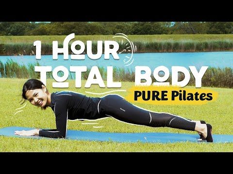 1 Hour Pure Pilates Total Body Morning Routine Pilates With Hannah Youtube Pilates Pilates Routine Pilates Workout
