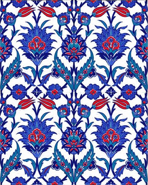 Kutahya Cinisi Cami Cinileri Desenler Mosque Masjid Ceramic Tile Decorations Interior Panosundaki Pin